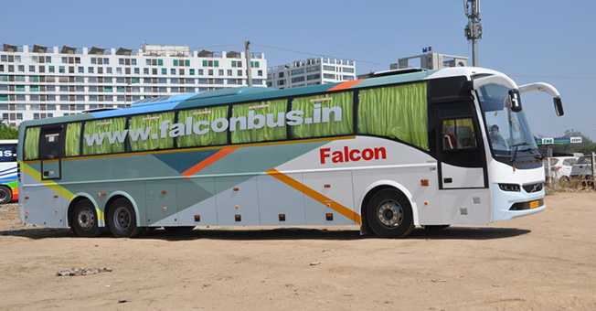 Online Bus Booking, Ticket Discount Offers - Falcon Bus, Mumbai